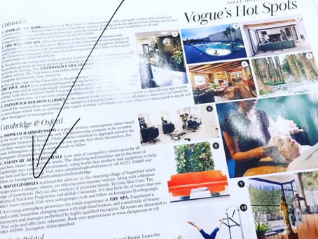 WE MADE IT TO VOGUE