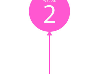 We are 2!!