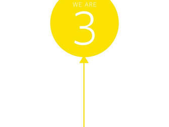 We are 3!