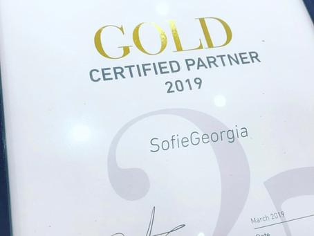 We got GOLD!