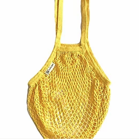 Turtle Organic Long Handled String Bag