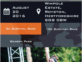 Bear Grylls Survival Race #TEAMSG