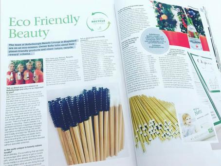 We talk Eco Friendly with Velvet Magazine