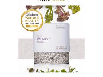 Skin Accumax wins another award...