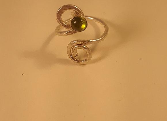 Peridot Wire Ring