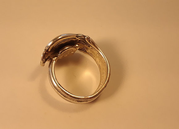 Sterling Vintage Spoon Ring