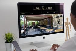 Site internet La table de Grans
