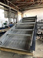 Решетка грабельная производство габельных решеток