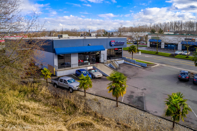 I5 Motors, Aerial Photography Fife, WA