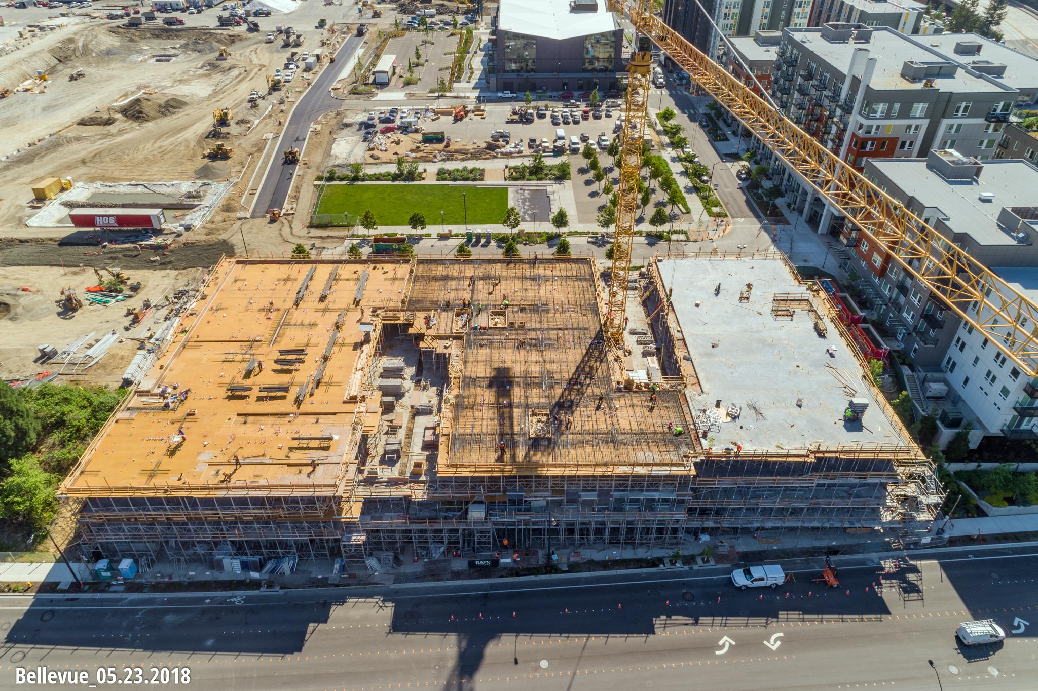 NorthWest Drone Works_Bellevue Construction Photography