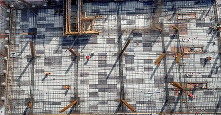aeral map of construction site using drones. High resoluto image stitching