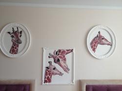 Жирафы триптих