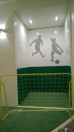 Роспись стен Спорт зал для детей)