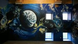 Роспись стен Шк. рест. Космос и Греция - 2015, акрил (42)