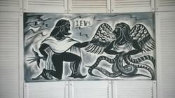 Роспись стен Шк. рест. Космос и Греция - 2015, акрил (56)