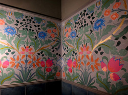 Роспись стен (стена, акрил, 8 м2)