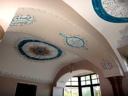 Роспись потолков в кабинете