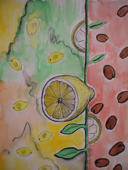 рисунок-лимон