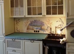 фартук на кухне 80х180