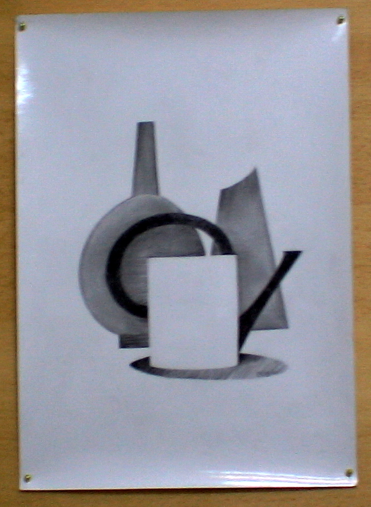 натюрморт (бумага, карандаш)