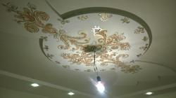 Роспись потолка кухни Красногорск акрил 2015 (4)