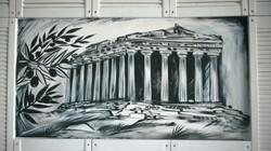 Роспись стен Шк. рест. Космос и Греция - 2015, акрил (48)