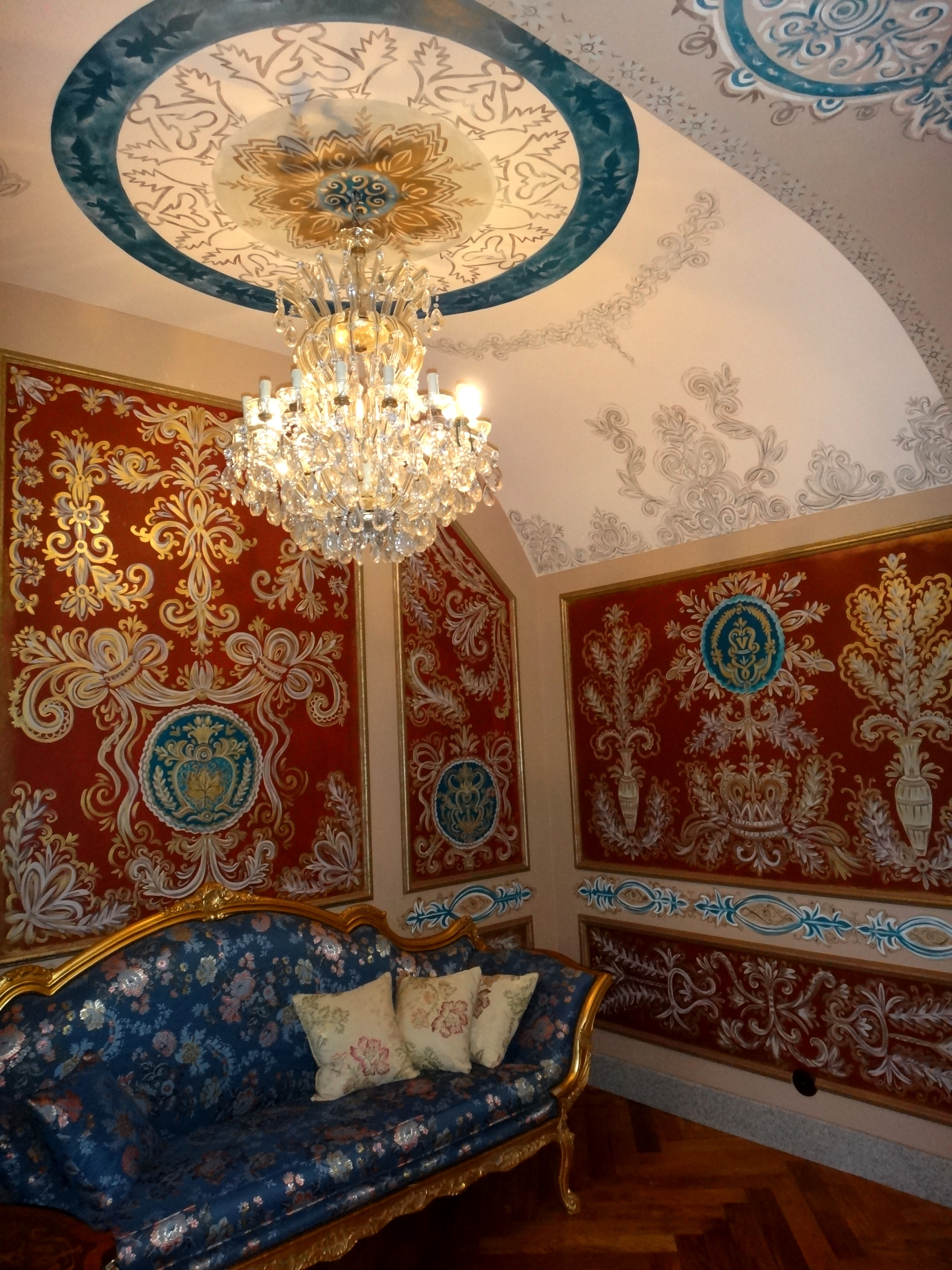 Роспись стен и потолков Кабинет