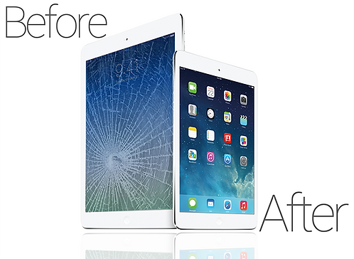iPad 5th  Screen repair