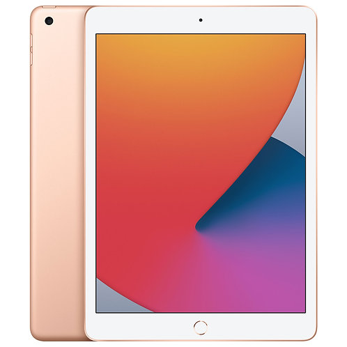 "Apple iPad 10.2"" 128GB with Wi-Fi (8th Generation) - Gold"