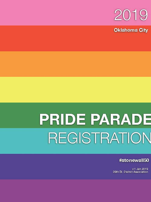 Parade Registration - Priority Placement