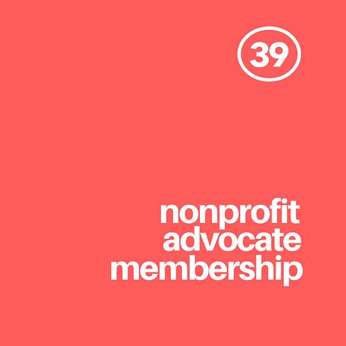 Nonprofit Advovcate Membership
