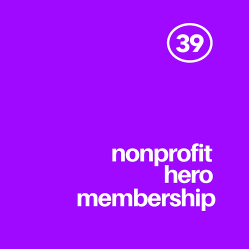Nonprofit Hero Membership