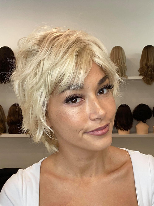 "12"" Luxury European Wig - Pixie Cut - The Jane"