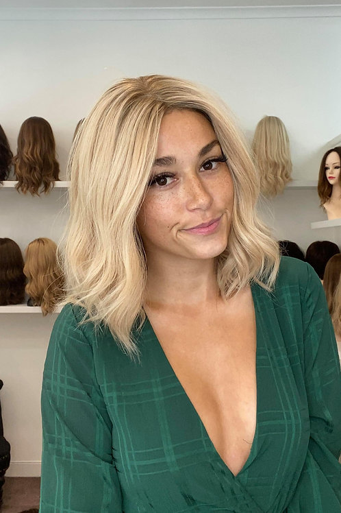 "14"" Premium Remy Wig - Light Density - Golden Blonde"