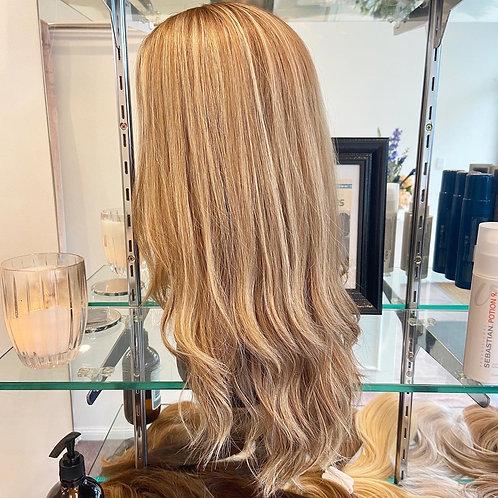 "22"" Light Density Premium Remy Wig - Medium Blonde"