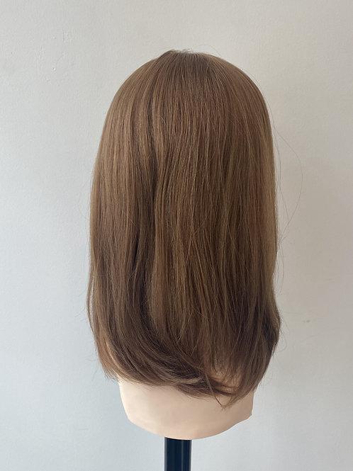 """14"""" Luxury European Hair Wig - Custom Chestnut Brown"""