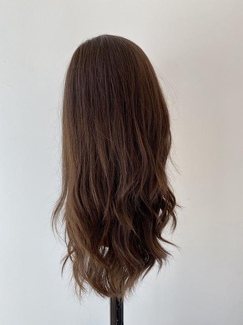 "20"" Luxury European Hair Wig - Warm Brown"