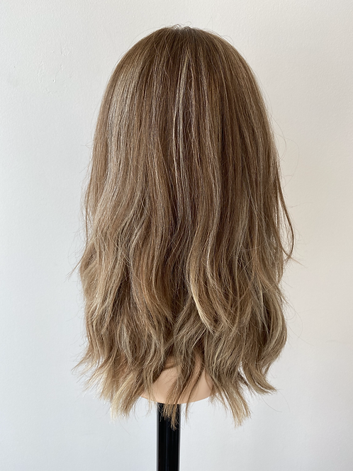 "18"" Luxury European Hair Wig - Custom Balayage"