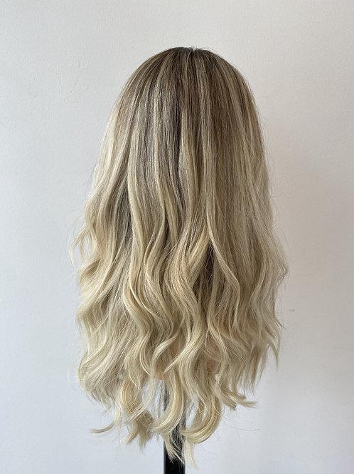 """20"""" Luxury European Hair Wig - Custom  Blonde"""