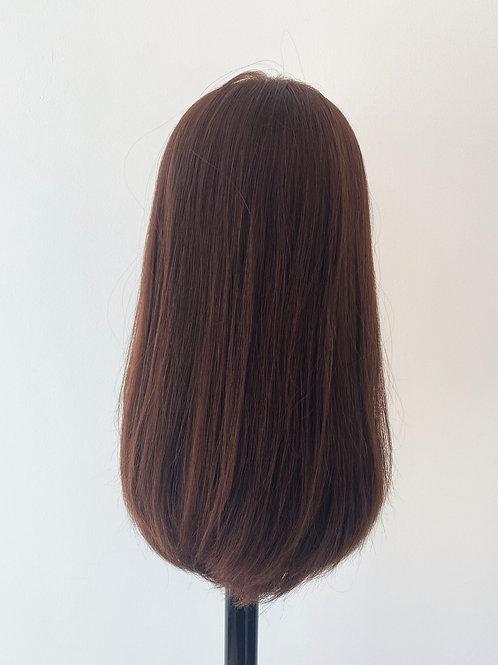 "18"" Ultra Light Density Premium Remy Wig - Auburn"