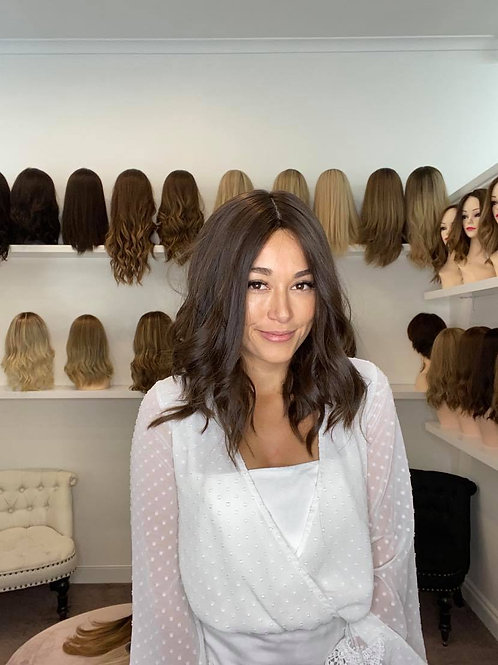 "16-17"" Luxury European Wig - #5"
