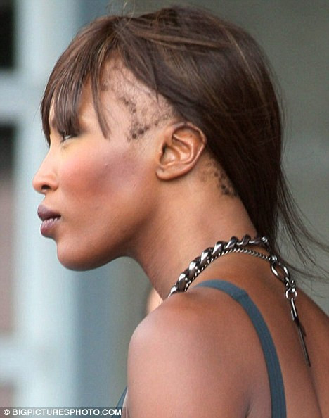 Naomi Campbell wig lace front