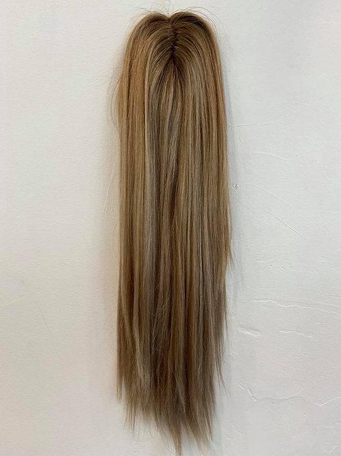 "20""  Premium Remy Micro Topper - Ash Blonde Dimensional"