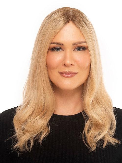 "18"" Light Density Premium Remy Wig - Light Golden Blonde"