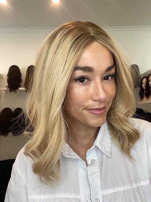"16"" Premium Remy Wig - Ultra Light Density - Golden Blonde"