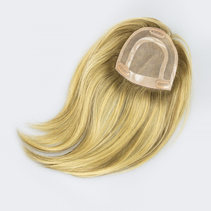 Human Hairpiece for Hair loss and thinning hair in women
