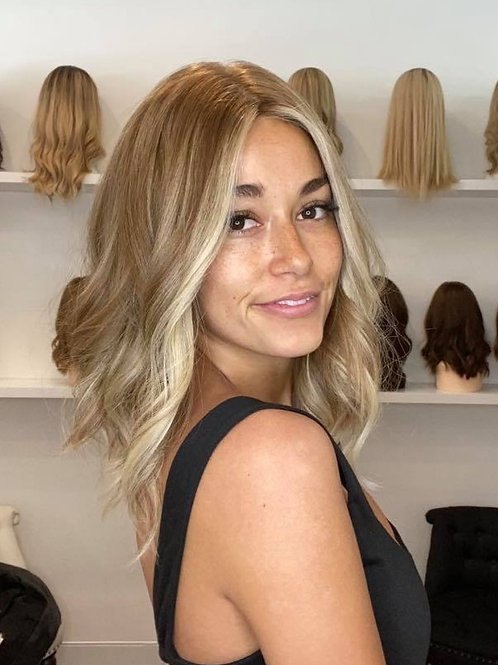 "16"" Luxury European Wig - Light Density - The Chloe"