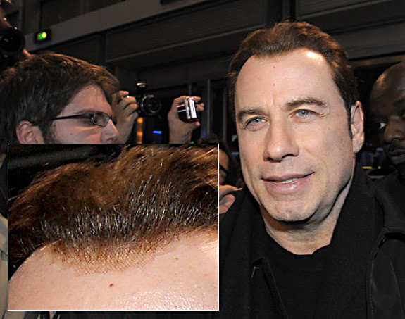 John Travolta Toupee mens hairpiece