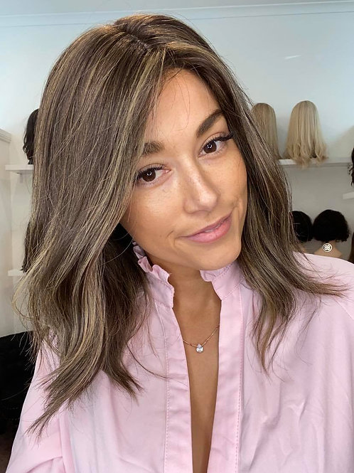 "15"" Luxury European Wig - Ultra Light Density - The Olivia"