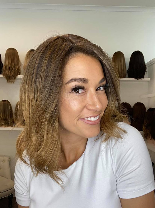 "14"" Premium Remy Human Hair Wig - Balayage"